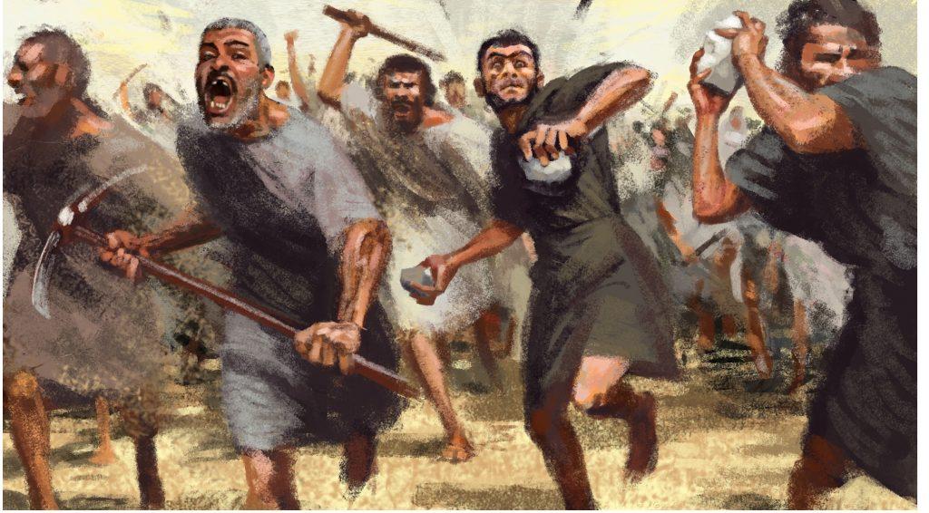 Legend of destruction by Gidi Dar