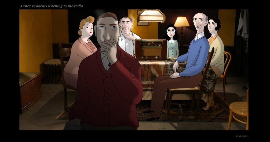 Anne Frank by Ari Folman